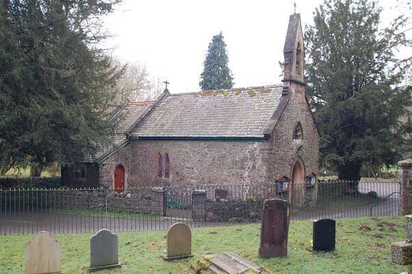 mounton church mathern